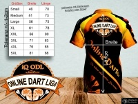 Online Darter Shirt iQ-ODL Phase 1