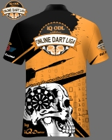 Online Darter Shirt iQ-ODL Phase 2 orange-schwarz